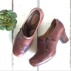 Clark's Artisan Collection Leather Brown 8.5 boot